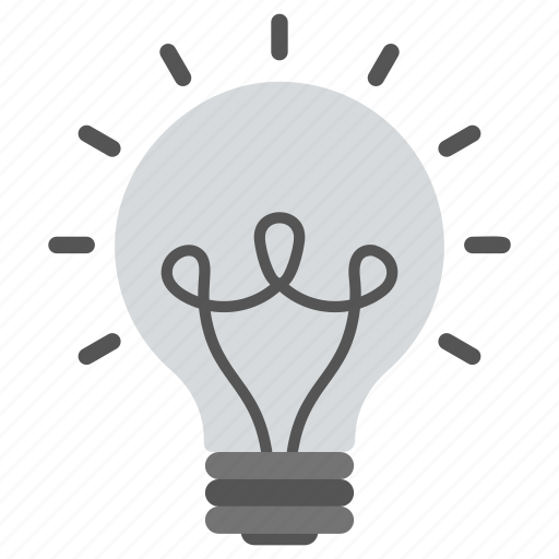 electric light, incandescent lamp, incandescent light bulb, inventions, lighting icon