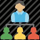 corporate hierarchy, hierarchy team, leadership, organizational chart, people hierarchy icon