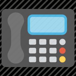 business telephone, cordless phone, office phone, telecommunication, telephone icon