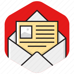 document, email, envelope, letter, mail, message, page icon