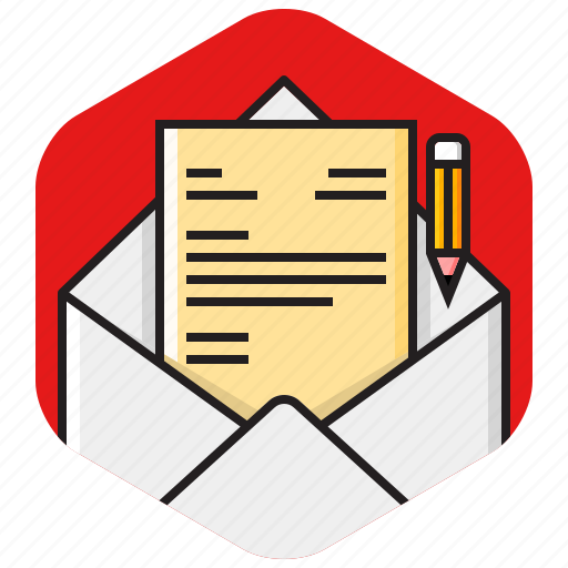compose, envelope, letter, message, new email, write icon