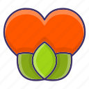 dating, ecologyplant, heart, love icon