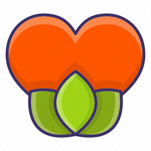 Dating, ecologyplant, heart, love icon - Download on Iconfinder