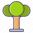 ecology, environment, tree icon