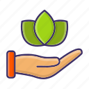 ecology, environment, invest, plant, planting, sprout icon