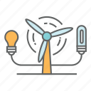 ecology, electricity, energy, environment, generator, power, turbine icon