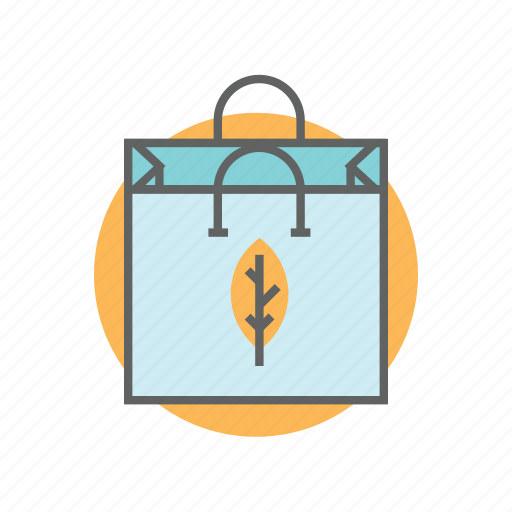 bag, eco, natural, organic, paper, shopping, store icon