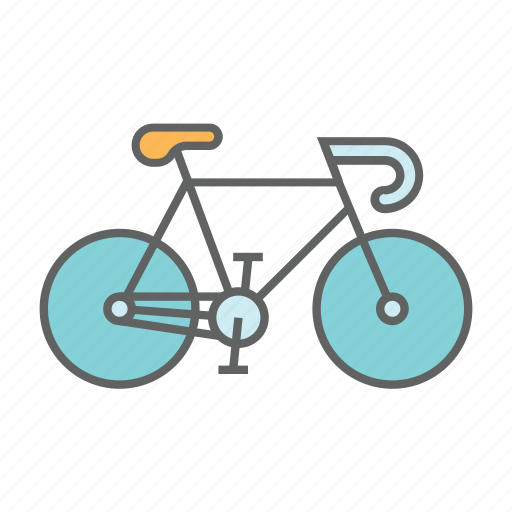 bicycle, bike, biking, cycle, healthy, road, transportation icon