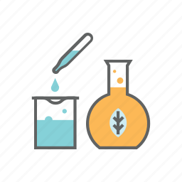 chemical, chemistry, glass, green, lab, laboratory, science icon