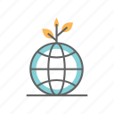 earth, environment, environmental, globe, green, healthy, nature icon