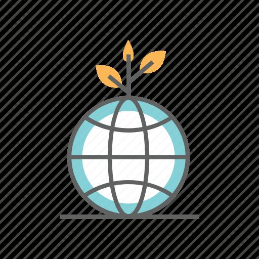 earth, environment, environmental, globe, green, healthy, nature icon