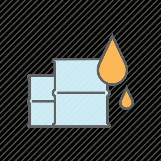 barrel, chemical, drum, environment, fuel, gallon, oil icon