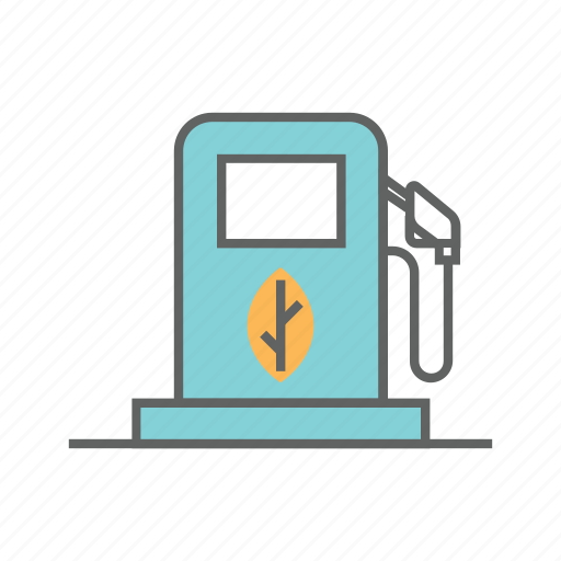 ethanol, fuel, gas, gasoline, green, renewable, station icon
