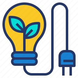 eco, electric, environment, green, power icon