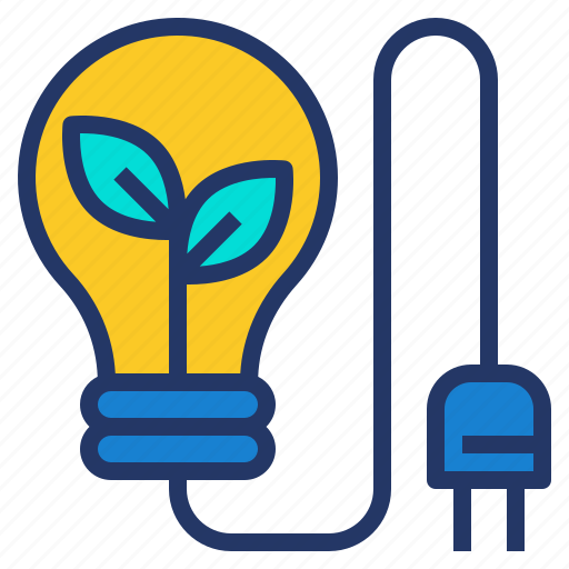 Eco, electric, environment, green, power icon - Download on Iconfinder