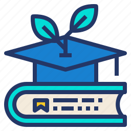 book, ecology, environment, knowledge icon