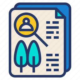 examine, human, nature, research icon