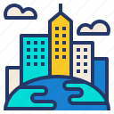 building, city, cityscape, expansion, world icon
