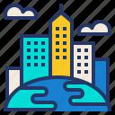 building, city, cityscape, expansion, world