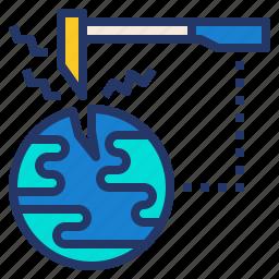 energy, geoscience, meteorology, mineral, soil icon