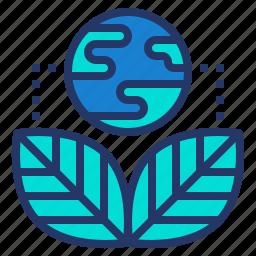 earth, eco, environment, save, world icon