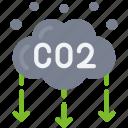 reduce, carbon, gas, eco, friendly, emissions, cloud