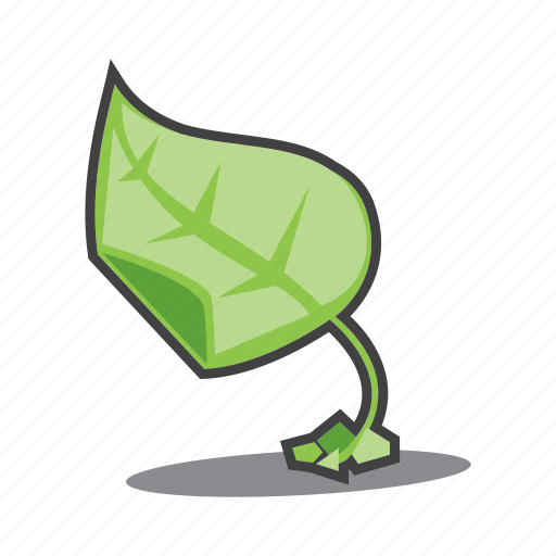 environment protection, leaf, nature icon