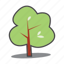 environment protection, green, nature, tree icon