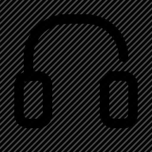 headset, listening, music icon