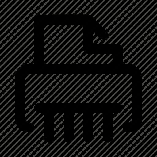 Destroy, paper, shredder icon - Download on Iconfinder