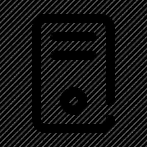 computer, cpu, pc icon