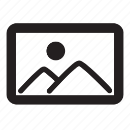 album, bitmap, gallery, image, landscape, photo, picture icon