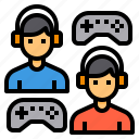 battle, competition, game, multiplayer, video icon