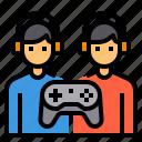 battle, esport, game, multiplayer, video icon