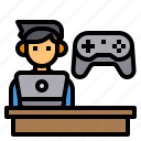 esport, game, gamer, joystick, player, video icon