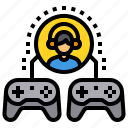 competition, esport, game, gamer, player, video icon