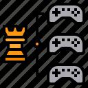 esport, fixtures, match, strategy, tournament icon