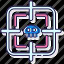 aimbot, lock, target icon