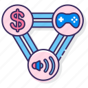 game, publisher, video icon