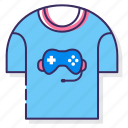 esports, jersey, shirt icon