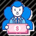 investors, sponsors, sponsorship icon