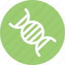 biology, dna, genetics, investigation icon