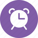 alarm, clock, time, timer, watch icon