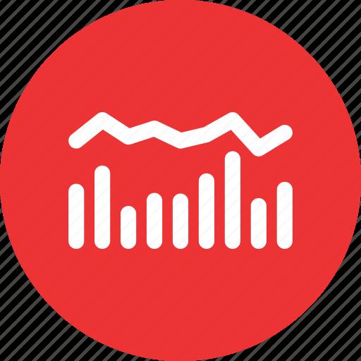 analytics, chart, histogram, statistics icon