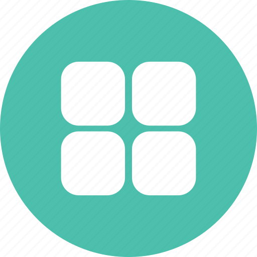 applications, apps, grid, table icon