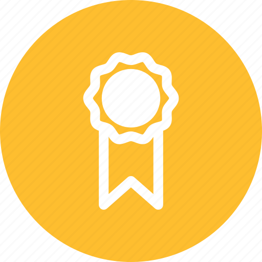 achievement, award, badge, gold, medal icon
