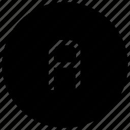 a, alphabet, letter icon