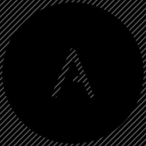 a, alphabet, auto icon