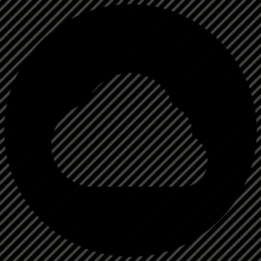 archive, cloud, storage icon