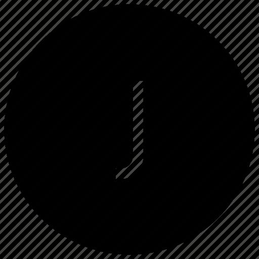 alphabet, j icon